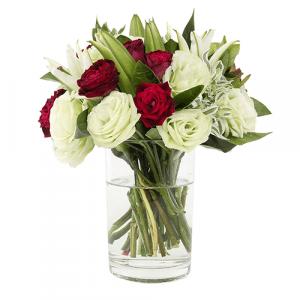 Corazon de 36 rosas